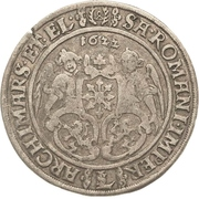 30 Groschen - Johann Georg I. – reverse