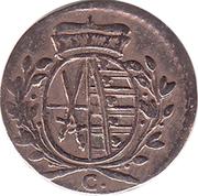 1 Pfennig - Friedrich August III – obverse