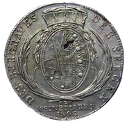 1 Thaler - Friedrich August III. (Ausbeute) – reverse