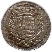 1 Pfennig - Johann Georg III. – obverse