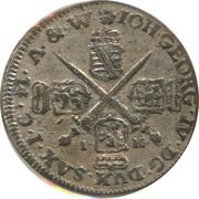 1/24 Thaler - Johann Georg IV. – obverse
