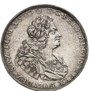 2 Thaler - Friedrich August I. – obverse