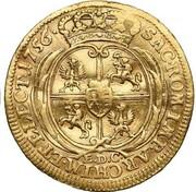 1 Ducat - Friedrich August II. – reverse