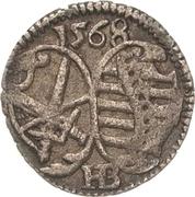 1 Pfennig - August I. – obverse