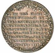 3 Thaler - Johann Georg II. – reverse