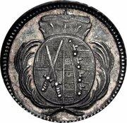 1 Pfennig - Friedrich August III. (Pattern) – obverse