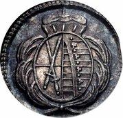 1 Heller - Friedrich August III. (Pattern) – obverse