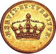 2 Ducat - Friedrich August II. – obverse