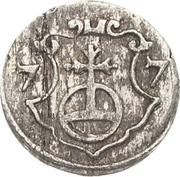 1 Pfennig - August I. – reverse