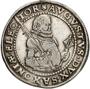 ½ Thaler - August I. (Death) – obverse