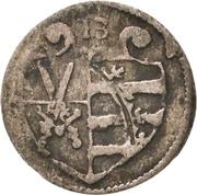 1 Pfennig - Christian I. – obverse