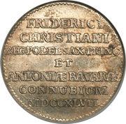1/12 Thaler - Friedrich Christian – reverse