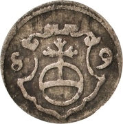 1 Pfennig - Christian I. – reverse