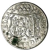 """1/12 Thaler - Friedrich August II (""""Doppelgroschen"""") – obverse"""