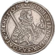 2 Thaler - Christian I. (Death) – obverse