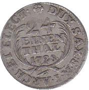 1/24 Thaler - Friedrich August I. – reverse
