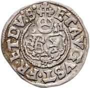 1 Groschen - Christian II., Johann Georg I. and August – reverse
