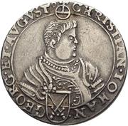 ⅛ Thaler - Christian II., Johann Georg I. und August – obverse