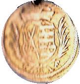 1 Pfennig Johann Georg III – obverse