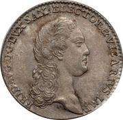 1 Doppelgroschen - Friedrich August III. – obverse
