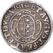 ⅛ Thaler - Christian II., Johann Georg I. and August – obverse