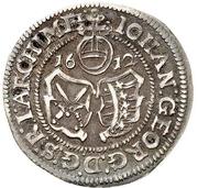 1 Groschen - Johann Georg I. and August – obverse