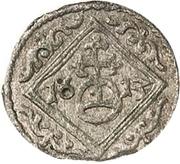 1 Dreier - Johann Georg I and August – reverse