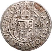 1 Groschen - Johann Georg I. (Vicariat) – reverse