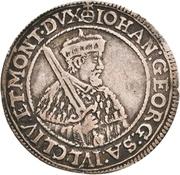 ⅛ Thaler - Johann Georg I. and August (Vicariat) – obverse