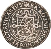 ⅛ Thaler - Johann Georg I. and August (Vicariat) – reverse