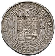 2 Thaler - Johann Georg I. (Vicariat) – reverse