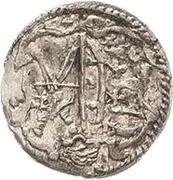 1 Pfennig - Johann Georg I. and August – obverse