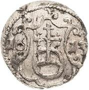 1 Pfennig - Johann Georg I. and August – reverse
