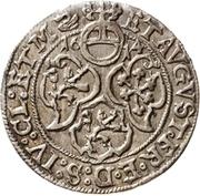 1 Groschen - Johann Georg I. and August – reverse
