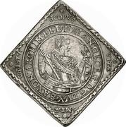 2 Thaler - Johann Georg I. (Klippe; Baptism) – obverse