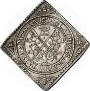 2 Thaler - Johann Georg I. (Klippe; Baptism) – reverse