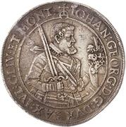2 Thaler - Johann Georg I. – obverse