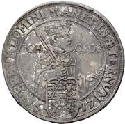 ½ Thaler - Johann Georg I. (Reformation) – obverse