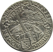 ⅛ Thaler - Johann Georg I. (Augsburg Confession) – reverse