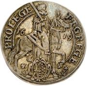 ⅛ Thaler - Johann Georg I. (Vicariat) – obverse