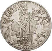 ½ Thaler - Johann Georg I. (Vicariat) – obverse