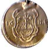 1 Pfennig Johann Georg III – reverse