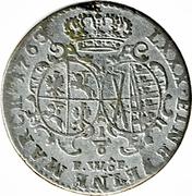⅙ Thaler - Friedrich August II – reverse