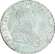 ⅙ Thaler - Friedrich August III – obverse
