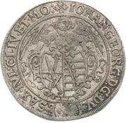 40 Groschen - Johann Georg I. – obverse