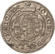8 Groschen - Johann Georg I. – obverse