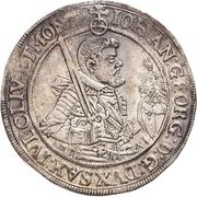½ Thaler - Johann Georg I. – obverse
