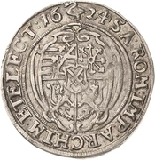 ⅛ Thaler - Johann Georg I. – reverse
