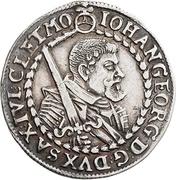 ⅛ Thaler - Johann Georg I. – obverse