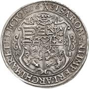 ½ Thaler - Johann Georg I. – reverse
